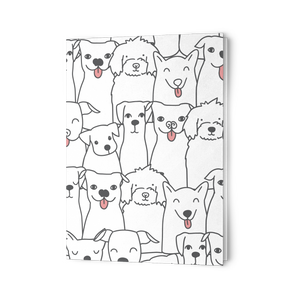 Doggie Friends Folding Card Set