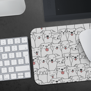 Doggie Friends Mousepad