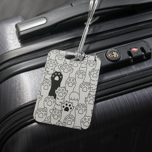 Kitty Paws Luggage Tag