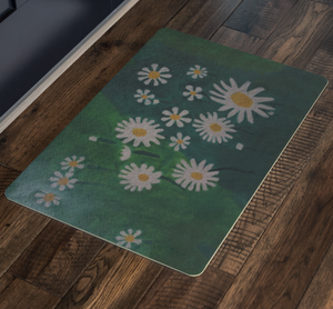 Daisies Welcome Mat
