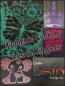 Women's Custom Tees & Singlets