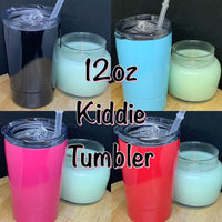 12oz Kiddie Double Walled Insulated Tumbler