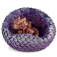 Dragon Baby in Crystal LED Egg