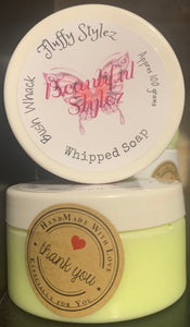 Fluffy Stylez Whipped Soap 250 gram