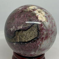Eudialyte Sphere & Stand