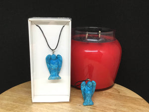 Gemstone Angel Necklaces