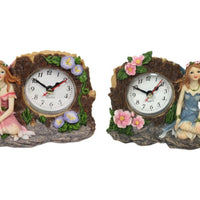 Fairy Flower Tree Clock