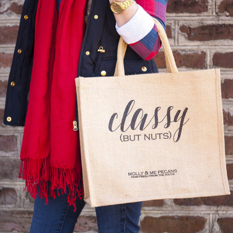 Classy (But Nuts!) Tote