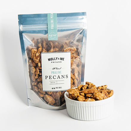Praline Pecans - 9oz bag