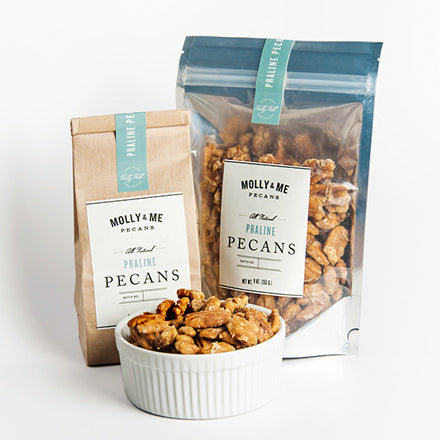 Praline Pecans - 9oz and 7oz bags
