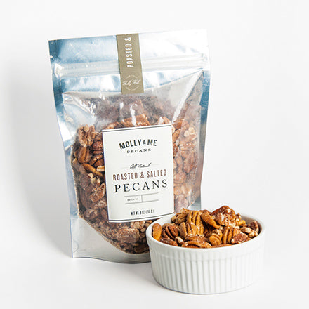 Roasted & Salted Pecans - 9oz. bag