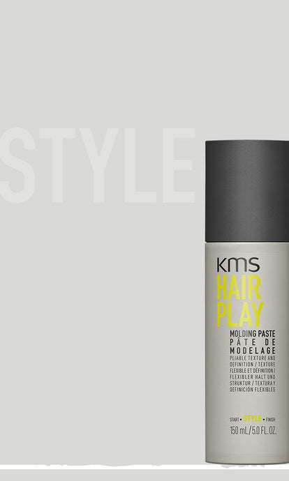 KMS Hair Play Molding paste Provides Texture with a Modern Natural Finish