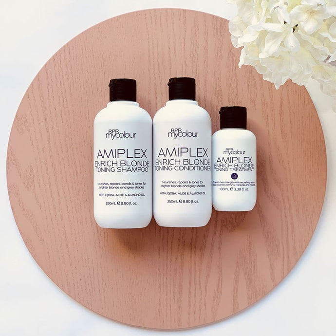 Amiplex a great Alternative to Olaplex made for Blondes
