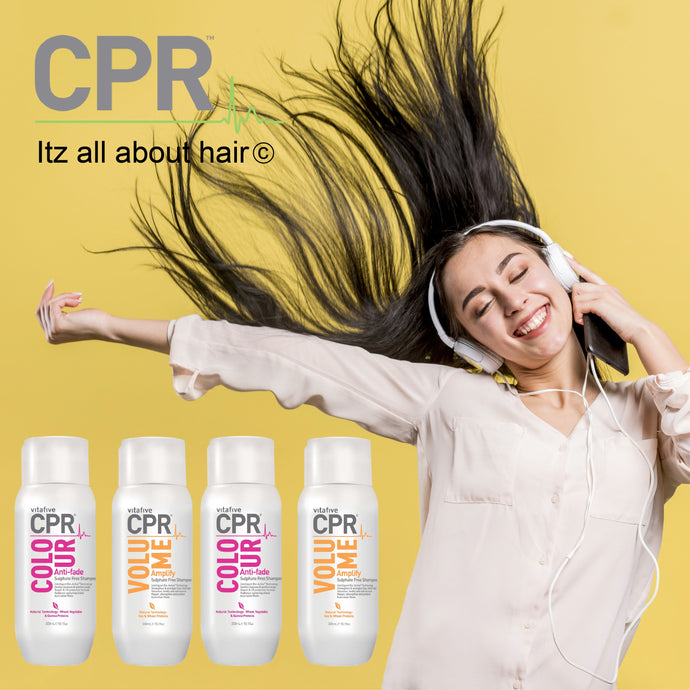 CPR Vitafive Range Of Hair Care Products at Itz All About Hair
