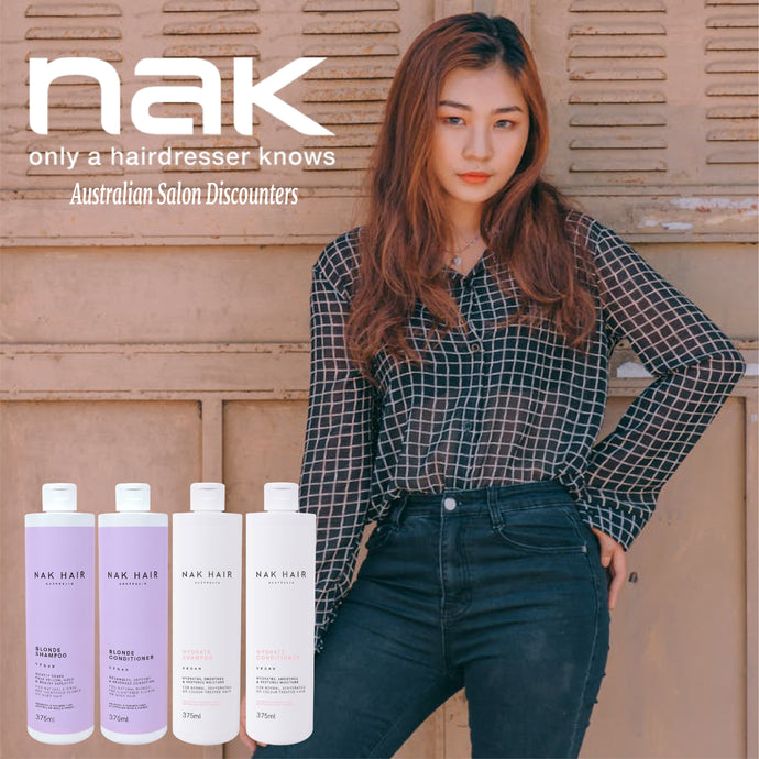 Nak just because we Love the Nak Range at Itz All About Hair