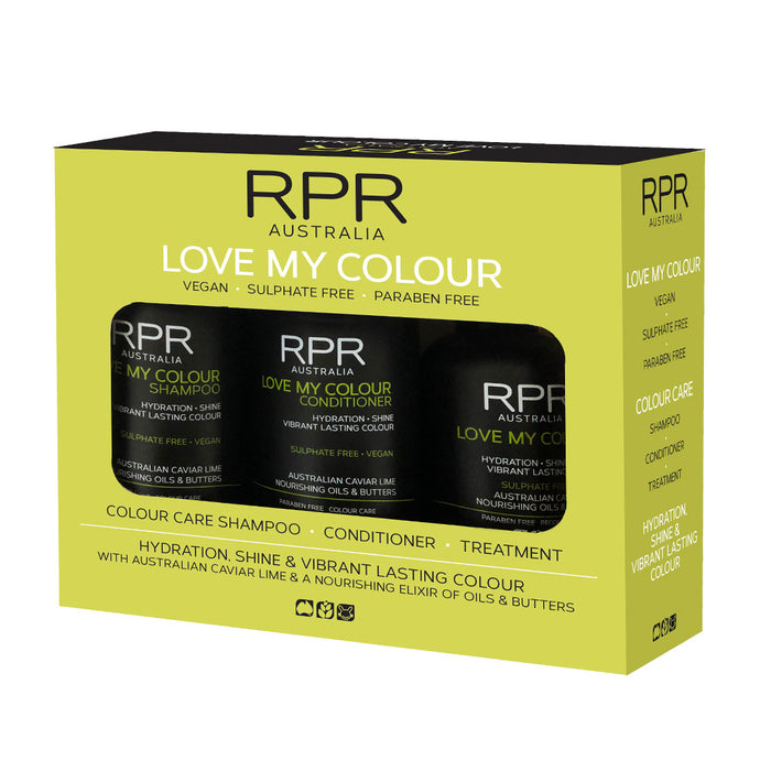 RPR Love My Colour the premium Color Hair Car Range