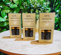 KERATIN POWER SHOT TWIN PACK  Express leave-in keratin treatment to repair, smooth, strengthen and shine.