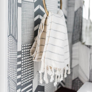 MINI TURKISH TOWEL DOVE