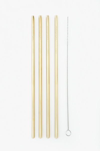 metal reusable straws