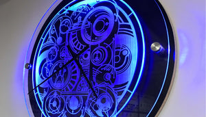 Making a Custom Dr. Who Inspired LED Clock