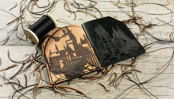 Making a Custom Harry Potter Wallet