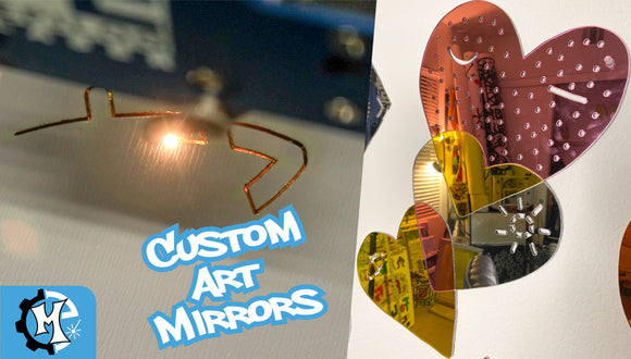 Custom Art Mirrors | Collaboration with Pretty Done