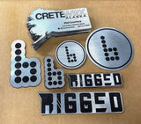Custom Engraved Die Cut Magnets