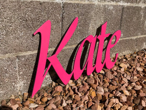 Custom Wooden Name Sign - 1 Layer