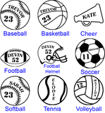 Sports Ornament - Choose Your Sport