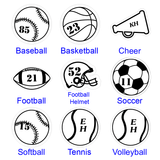 Sports Pin - Choose Your Sport