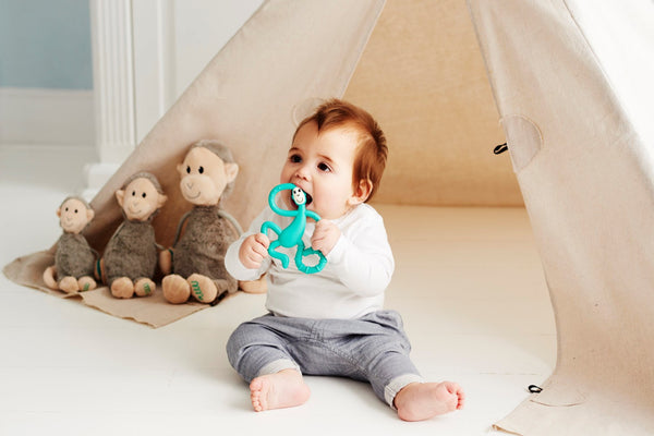 Dancing Monkey Teether Matchstick Monkey