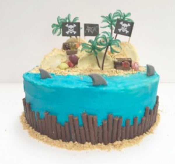 Toddler Treasure Island Birthday Cake