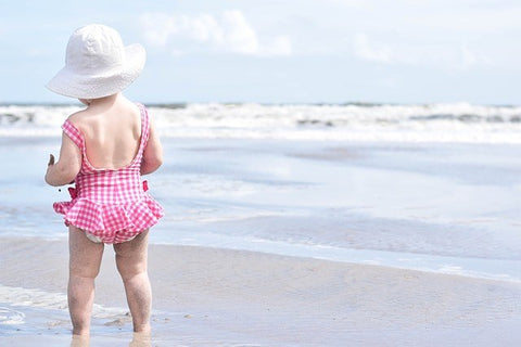 Summer Clothes - Baby Swimsuit and Hat