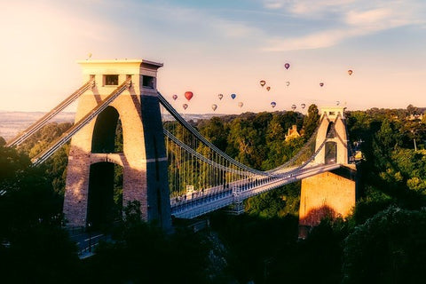 Bristol Hot Air Balloon for Fathers Day
