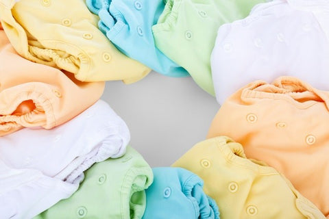 Colourful Reusable Nappies
