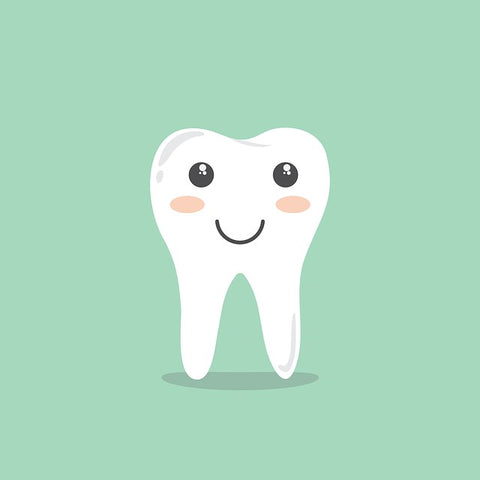 Healthy Baby Tooth cartoon