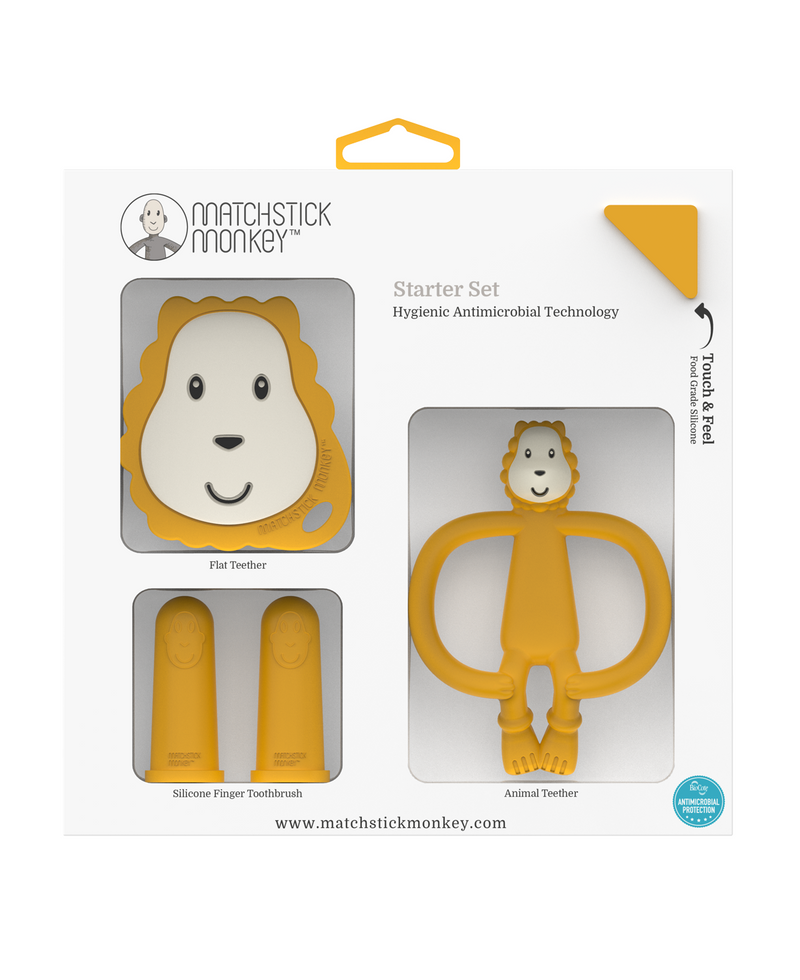 LUDO LION TEETHING STARTER SET
