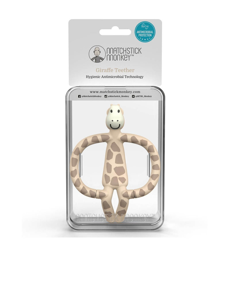 Giraffe Teether - Packaging