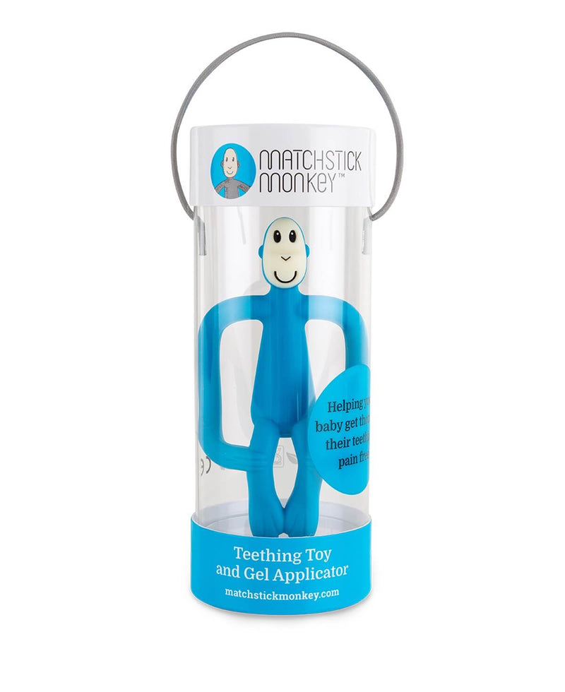 Blue Monkey Teether - Packaging