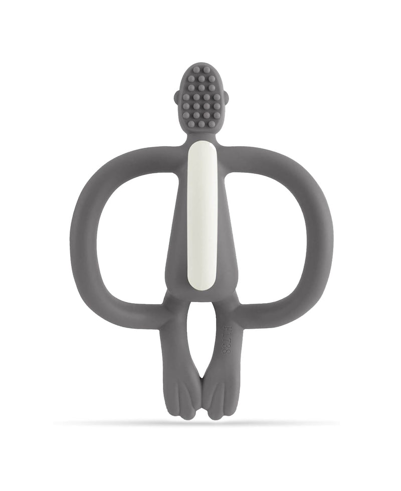 Grey Monkey Teether - Back