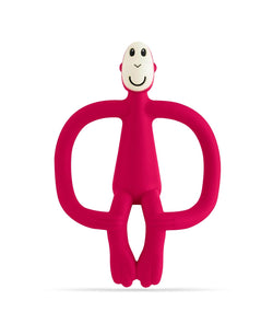 Red Monkey Teether - Front