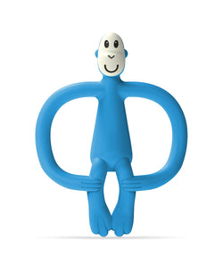 Blue Monkey Teether - Front