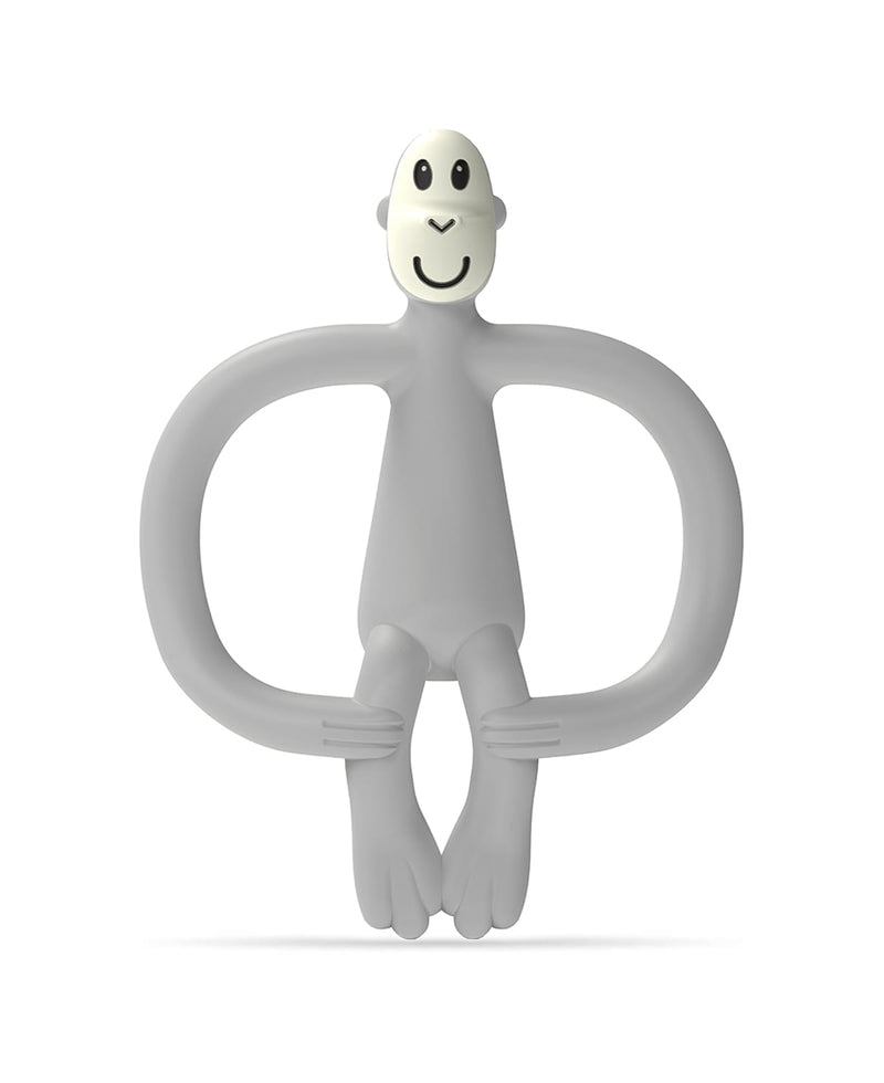 Grey Monkey Teether - Front
