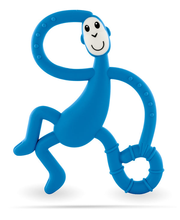 Blue Dancing Monkey Teether - Front