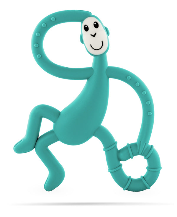Green Dancing Monkey Teether - Front