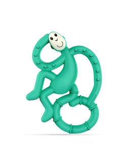 Green Mini Monkey Teether - Front