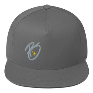 Flat Bill Cap B Series Grey