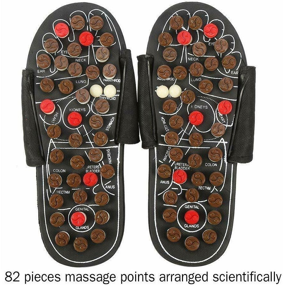 Foot Massage Reflexology Acupressure Therapy Slippers