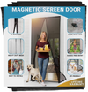 Hands-Free Magnetic Screen Door Mesh