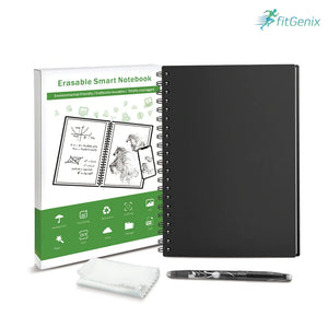 Smart Reusable/Erasable notebook with Cloud Storage connection